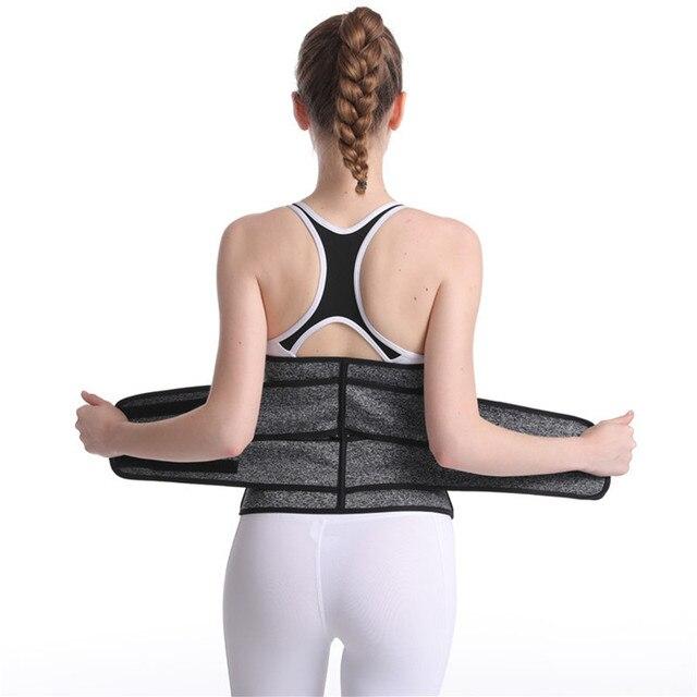 Women's Sports Waist Shaping Belt Neoprene Waistband Body Shaping Sweat Abdomen Belt Slimming Belt Slimming Wraps Belly Holding 3