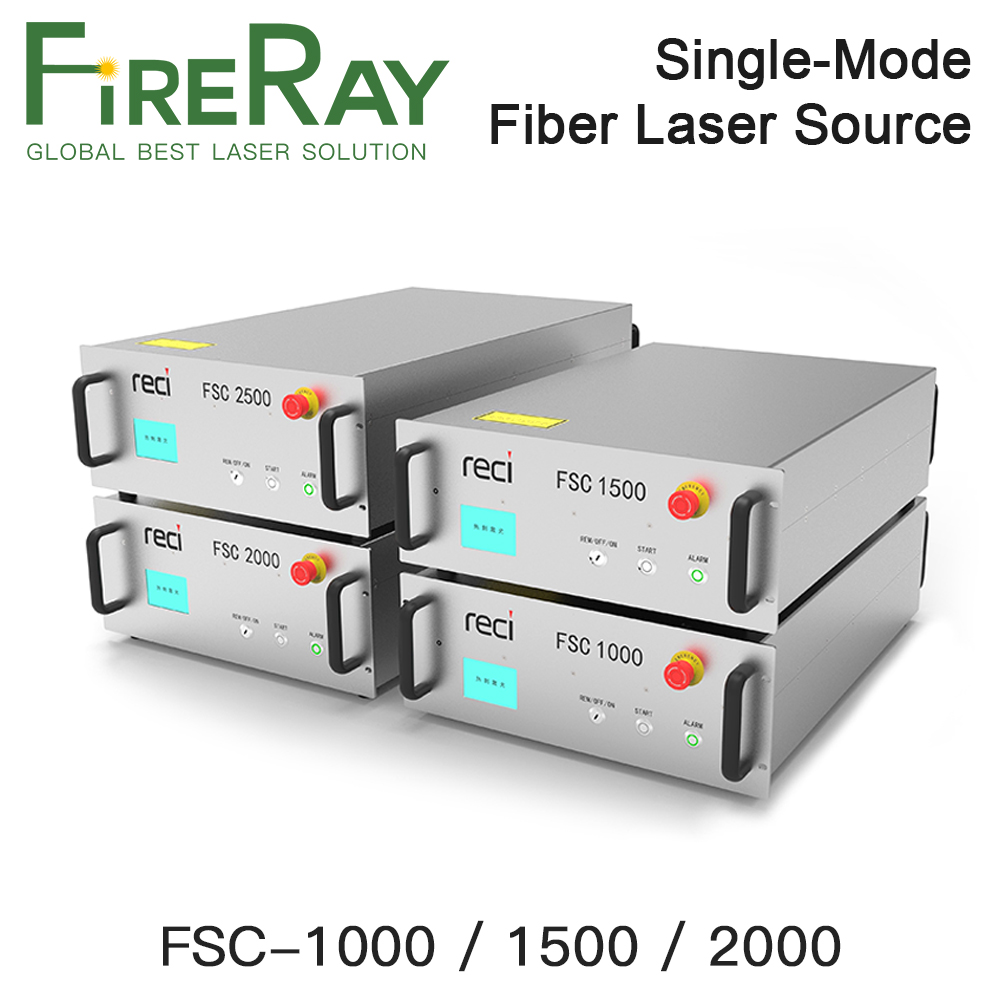 FireRay RECI High-Power Single-mode Continuous Fiber Laser Source FSC-1000 FSC-1500 FSC-2000 Laser Module