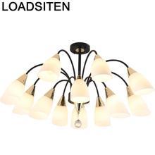 Decor Lampadari Moderni Chandelier Industriele Lighting Luminaire Lampen Modern Deco Maison Lampara Colgante Hanging Lamp