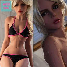 155cm (5.08 Ft) Adult Sex Doll Small Breast Wasp Waist Free Shipping Lifelike Silicone Flat Chest Cool Girl American Love Doll