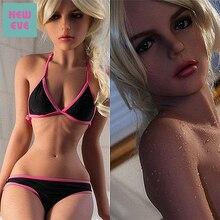Muñeca sexual para adultos de 155cm (5,08 pies), pecho pequeño, cintura de avispa, Envío Gratis, pecho plano de silicona realista, chica Guay, muñeca americana de amor
