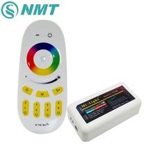 Mi Light RGBW/RGBWW Led Controller WiFi Wireless 2.4G RF Touch Remote Controller For 5050 RGBWW LED Strip цена 2017