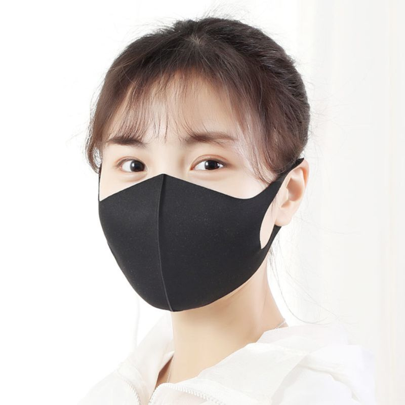3Pcs/Set Adult Kids Mouth Mask Dustproof Anti-Fog Protective Reusable Respirator Sturdy Sewing  Anti-odor
