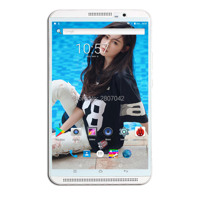 8 Inch 3G 4G LtePhone Call Tablets Android 9.0 Tablet Pc 6GB RAM 64GB ROM Octa Core WiFi Bluetooth FM
