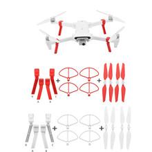 4 sztuk składane śmigła + rozszerzone wysokość nogi statywu dla Xiaomi FIMI X8 SE Drone Drone Quadcopter dzieci zabawki dla dzieci 2019 G20 tanie tanio ONTO-MATO Z tworzywa sztucznego 365 days Silnik szczotki 7 4V 2500mAh Lipo Battery 240-300 Mins 4 kanałów 4 * 1 5V AA batteries (not included)