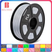 PLA 3D Filament 1.75 MM 1 KG Bright Color Low Shrinkage Low Warping Easy To Print Suitable Co-Print Crafts Artwork