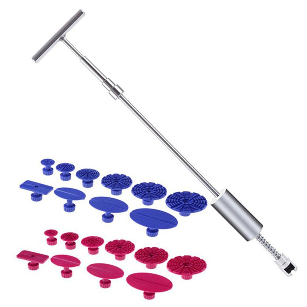 Professional Car Repair Kit Removal Paintless Dent Repairing Tool Straightening Dents Cross Puller Set