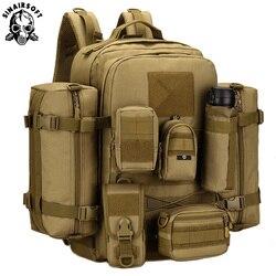 Nowy plecak 45L Camping torba wspinaczkowa wodoodporny plecak górski plecaki górskie Molle torba sportowa plecak wspinaczkowy w Torby wspinaczkowe od Sport i rozrywka na