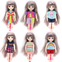 Reborn 13 Moveable Jointed 16cm Surprise Doll Blyth Dolls lols Toys BJD Baby Doll Naked Nude Women Body Dolls for Girls Gift Toy bjd doll 6pcs happy family kit toy dolls pregnant big belly dolls family suit pregnancy doll playsets toys for girls baby doll