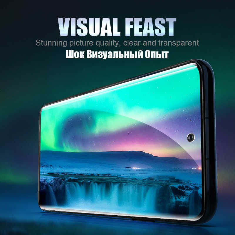 מזג זכוכית עבור Samsung Galaxy S10 בתוספת זכוכית S9 S8 מסך מגן S20 Ultra S10e S 9 8 10 e הערה 9 10 s10 לייט S 20 בתוספת