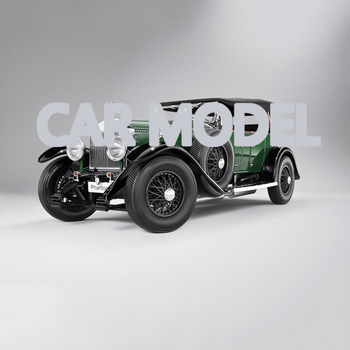 118 scale Alloy Toy Vehicles KYOSHO Rolls-Royce 1927 Phantom I Car Model Of Childrens Toy Original Authorized Car