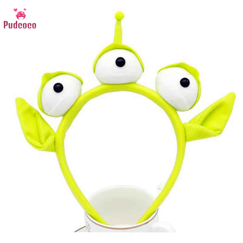 Novelty New Toy Story Alien Ears Costume Plush Toy Headband Adult Kids Child Birthday Party Masquerade Cosplay Christmas Gifts