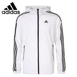 Original Neue Ankunft Adidas WB MESH BOND 3 4S männer jacke Mit Kapuze Sportswear
