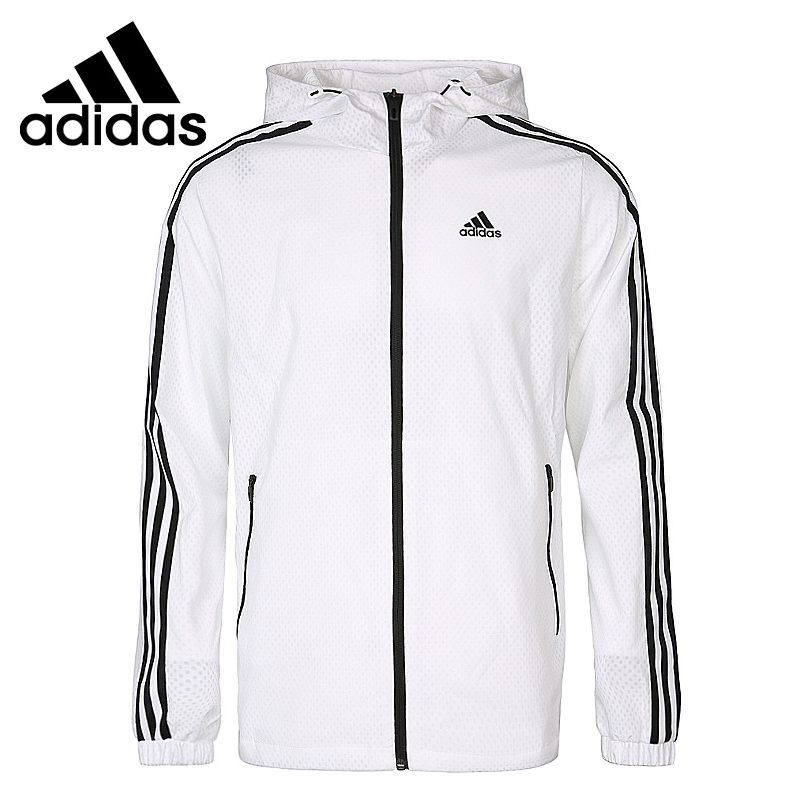 Original New Arrival <font><b>Adidas</b></font> WB MESH BOND 3S <font><b>Men's</b></font> jacket Hooded Sportswear image