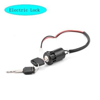 Cerradura de bicicleta eléctrica, Patinete eléctrico, motocicleta, Kit de conversión de bloqueo de puerta de bicicleta eléctrica