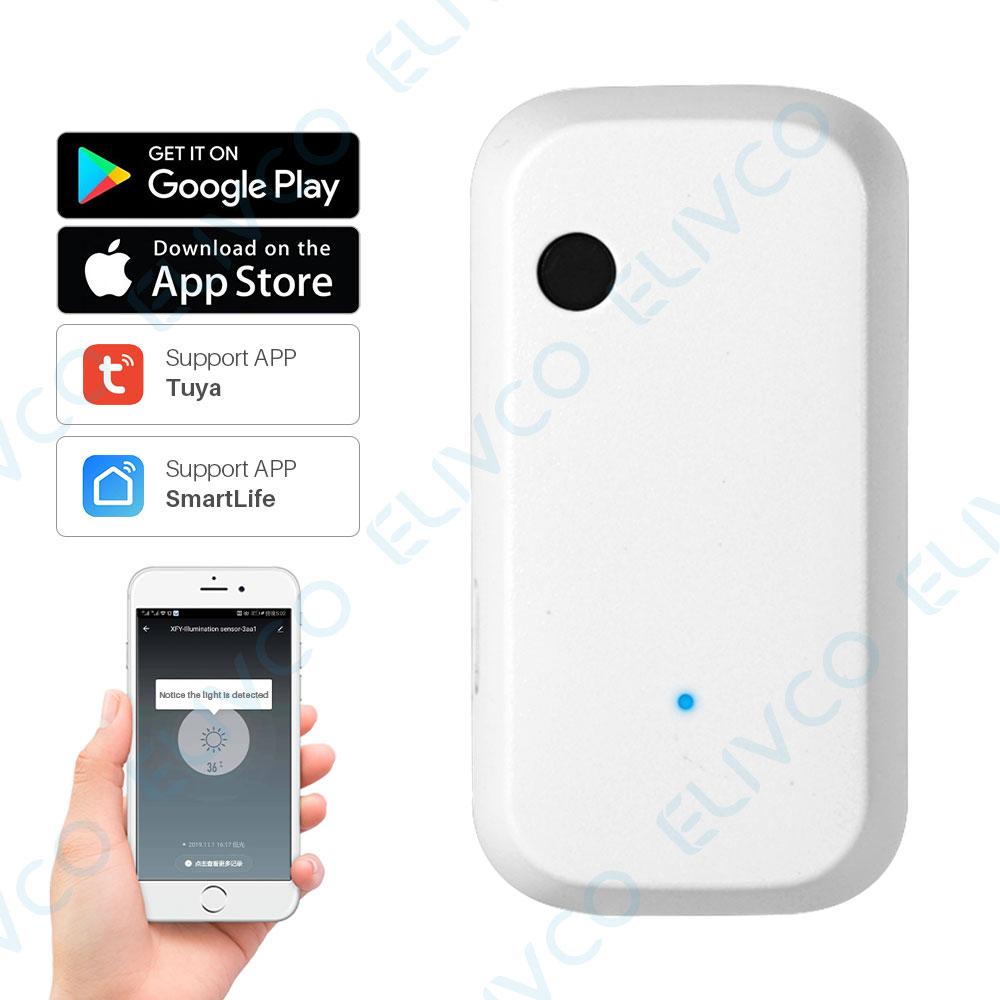 Sensor de Luz Execução de Ligação Inteligente Automática Brilho Detecção Interruptor Tuya Controle App Automação Residencial wi fi ia