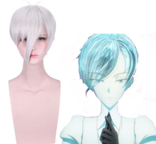 Anime Land Of The Lustrous Cosplay Wigs Antarcticite Cosplay Wig Synthetic Wig Hair Halloween Party Houseki No Kuni Antarc Wig цена 2017