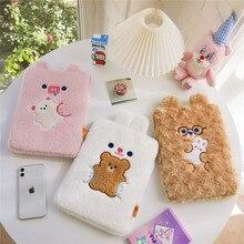 Bentoy Milkjoy Kawaii Ноутбук Чехлы 11 дюймов 9,7 дюймов 10,5 дюймов Плюшевые Медведи Япония Корея Стиль Симпатичные iPad Ptotective Держатели Сумки