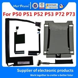 Новый кронштейн для жесткого диска Caddy, кабель для жесткого диска Lenovo ThinkPad P50 P51 P52 P53 P72 P73, кабель для мобильной рабочей станции SSD HDD