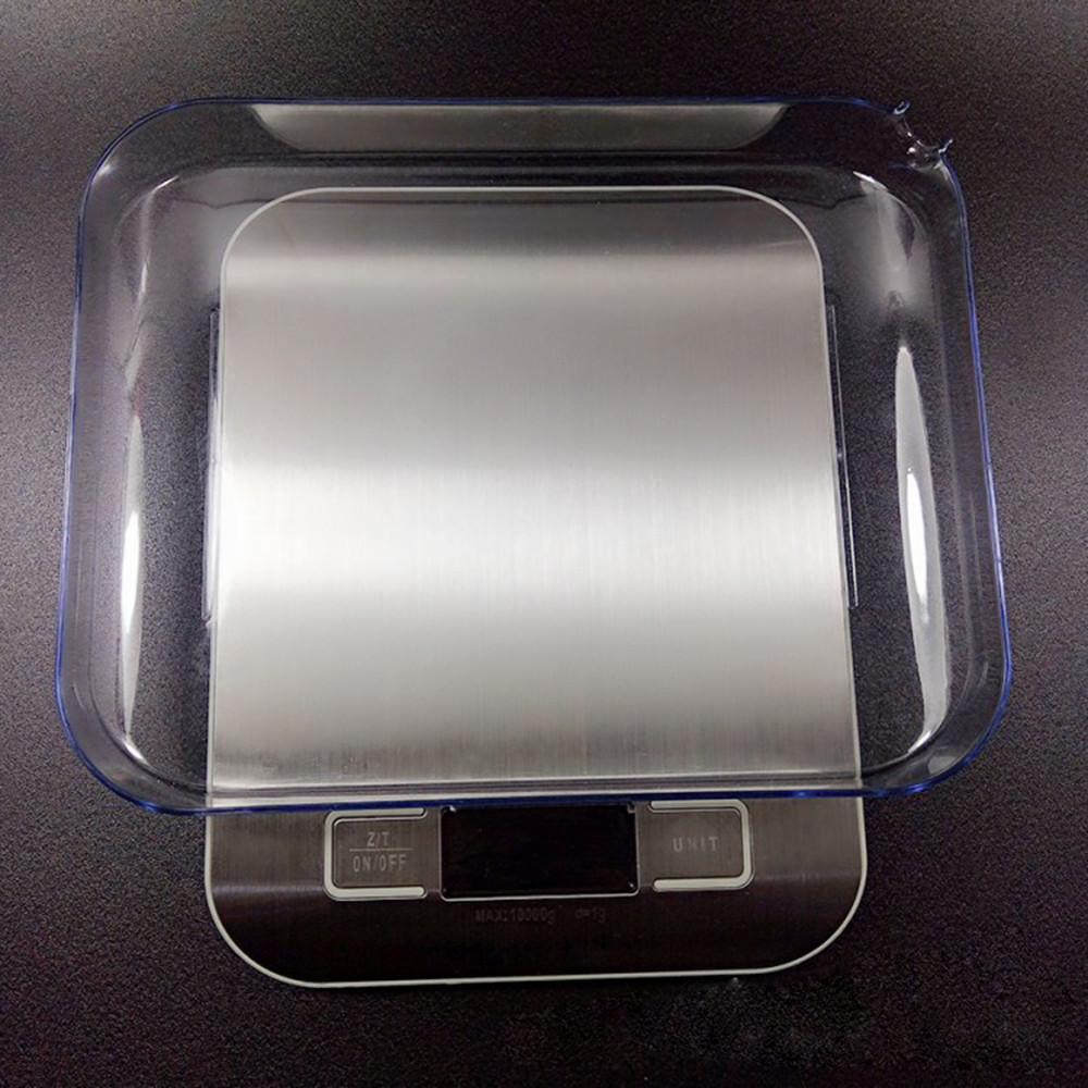 10 кг ЖК-дисплей Портативный Электронные цифровые весы карманные чехол почтовой Нержавеющаясталь Кухня Еда весы Баланс весы # LR1-3