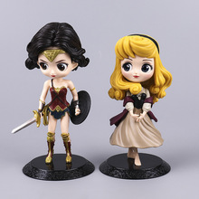 16cm Action Figure Wonder Woman PVC Anime Figure Collectible Model Toy Cute Action Figure For children Sleeping Beauty Figure boruto naruto next generations gem naruto uzumaki seventh hokage ver pvc anime action figure collectible model toy