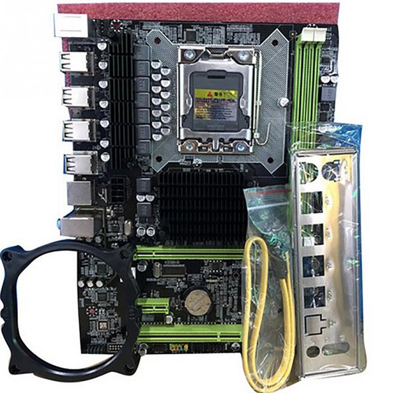 X58 LGA 1366 motherboard LGA1366 support REG ECC DDR3 and