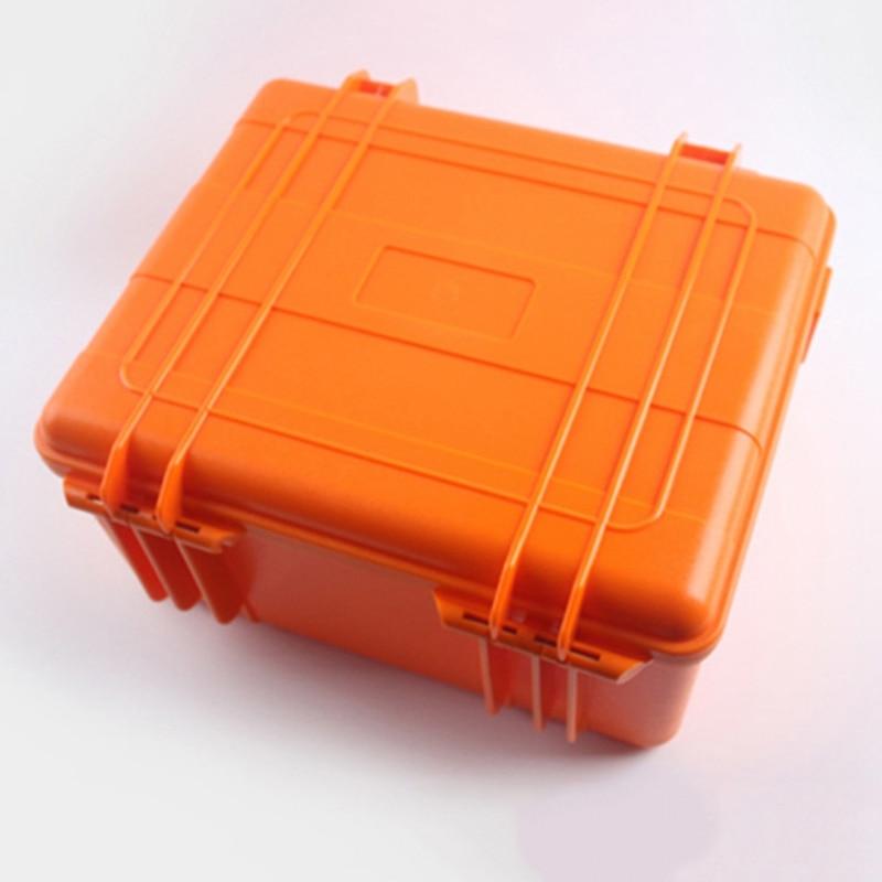 Pp Oranje Verzegelde Waterdichte Drogen Doos Veiligheid Apparatuur Doos Draagbare Gereedschap Outdoor Survival Duiken Snorkelen Opbergdoos - 4