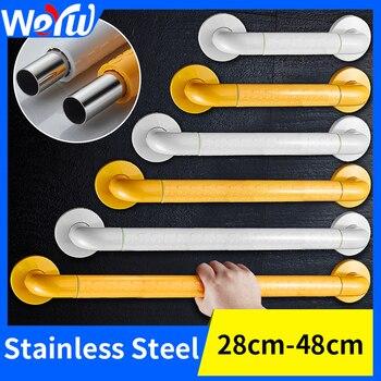 Bathroom Shower Handrails Support Stainless Steel Toilet Safety Handrails Grab Bars for Elderly Grab Bar Stainless Armrest фото