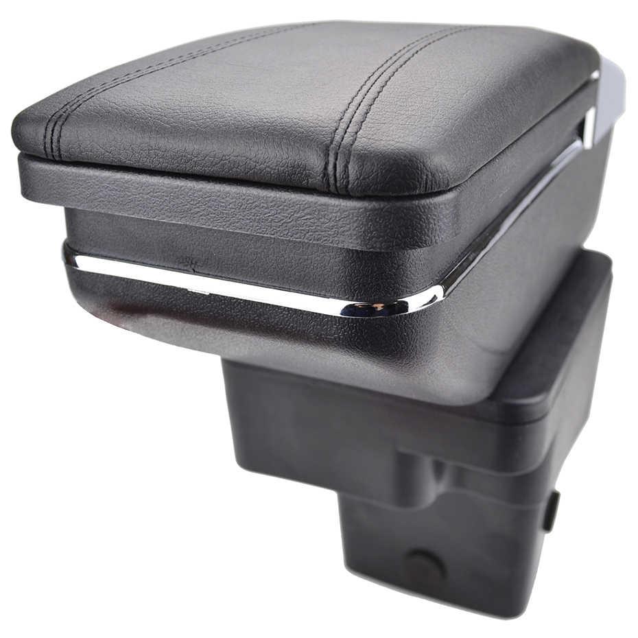 XUKEY для hyundai акцент подлокотника 2011-2017 2012 2013 2014 2015 2016 кожаный черный центральный подлокотник для автомобиля консольный ящик