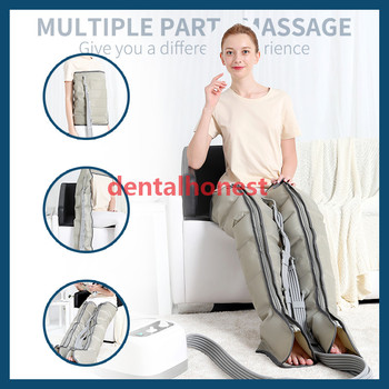 6 cavity for family body relax Air compression Leg Foot Massager Upgraded leg arm waist Massage relax Relieve Pain Fatigue