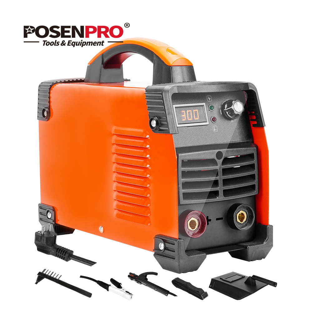 POSENPRO 250A/300A Welding Machine Arc Welder With ABS Handle IGBT IP21S DC Inverter Welder High Efficiency Electric Welders