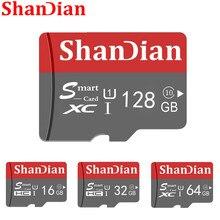 Cartão de alta velocidade esperto do tf do cartão de memória do sd da capacidade real 128gb/64gb da classe 10 16gb/64gb do cartão esperto 32gb do sd para o smartphone