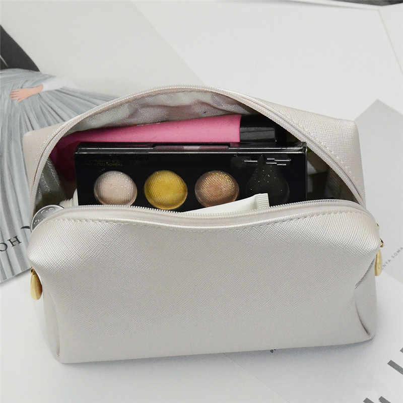 حقيبة مستحضرات تجميل منظم أدوات التجميل سستة الحقيبة الزينة حافظة للمكياج ل فرش إكسسوارات السفر النساء الفتيات