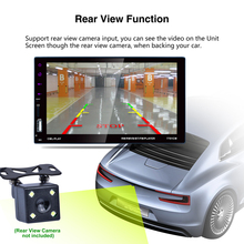 7 inch Car Radio 2 Din Touch Screen MP5 Player with Reversing Camera Interconnect Function