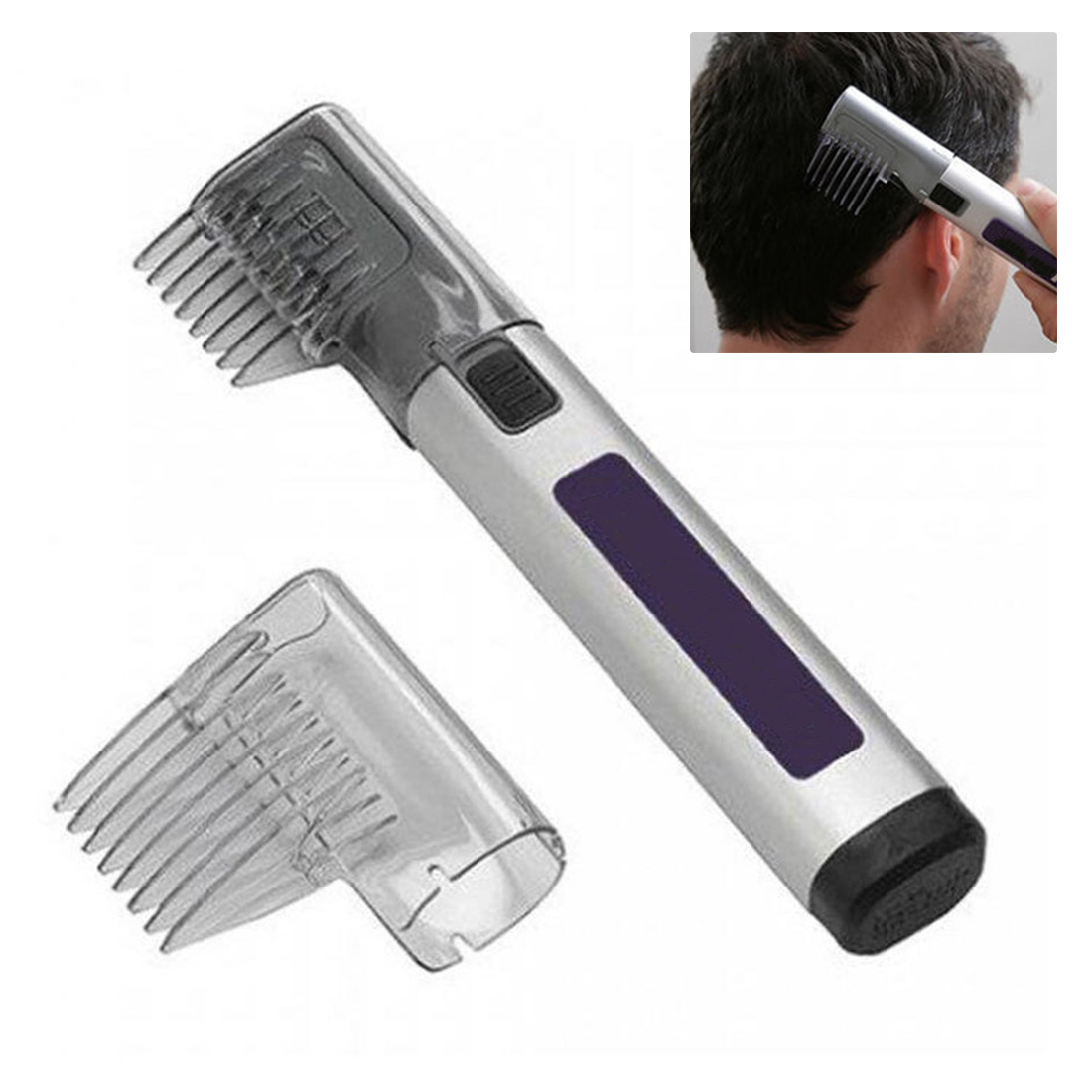 3 In 1 Quality Trimmer Razor Comb Handheld Hair Clipper The Magic Mistake Proof Do It Yourself Haircut Hair Beard Cutting Tool
