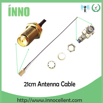 21cm PCI U.FL to SMA Male Connector Antenna WiFi 1.13 Pigtail Cable IPX to SMA Extension Cord For PCI Wifi Card Wireless Router 10pc lot original cdsenet xc ipx sma antenna extension line 20cm sma k to ipx wifi wireless communication antenna cable
