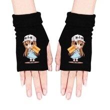 Аниме перчатки Boku No Hero Academy DATE A LIVE Demon Slayer косплей перчатки без пальцев