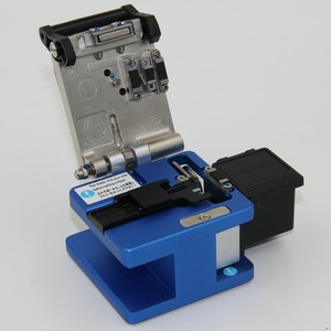 Image 5 - High Precision FC 6S Optical Fiber Cleaver with Fiber Scrap Collector FTTH Fiber Cutting Cleaver Free Shipping