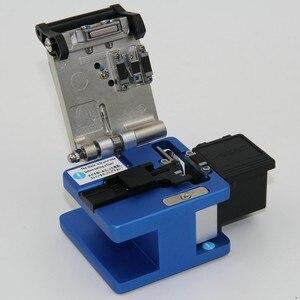 Image 5 - Hoge Precisie FC 6S Optical Fiber Cleaver Met Fiber Schroot Collector Ftth Fiber Snijden Cleaver Gratis Verzending