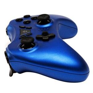 Image 3 - Top Nuovo Interruttore Pro Controller Senza Fili di Bluetooth Gamepad Joystick per Nintendo Interruttore NS per PS3/PC/Android/ a vapore (Blu)