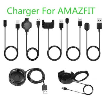For Xiaomi Amazfit Watch 1 For Huami Smart Watch A16 to A18 Series USB Charging Cradle Cable Dock & EU US UK Charger TXTB1 image