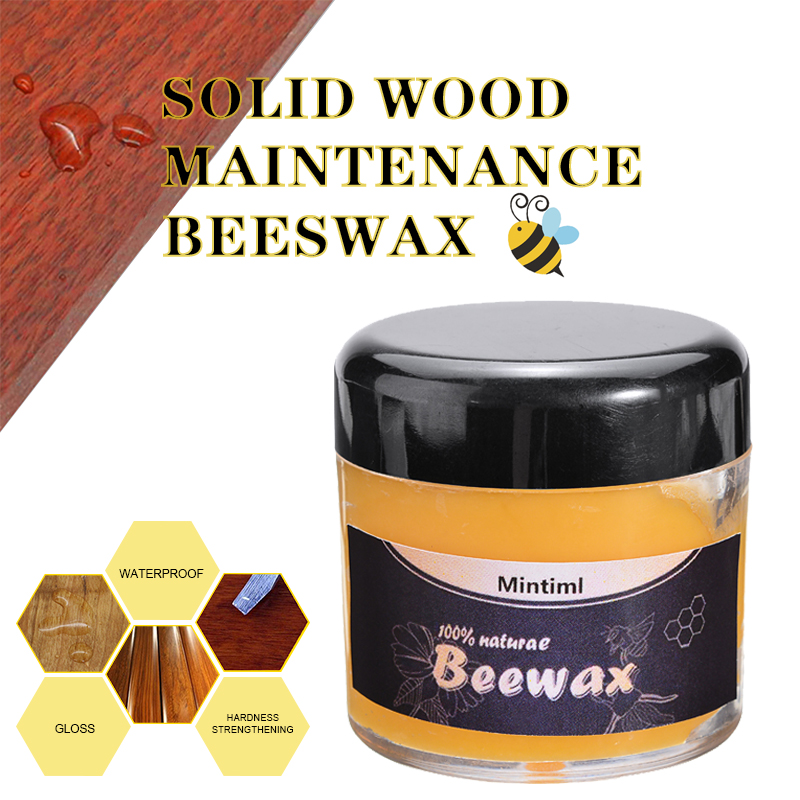 Waterproof Natural Wood Seasoning Beewax Complete Solution Furniture Care Cleaning Beeswax Furniture Cleaning Wax