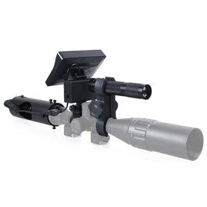 Image 4 - Nachtsicht Zielfernrohr Jagd Scopes Anblick Kamera Infrarot LED IR Klare Vision Umfang Gerät für Gewehr Nacht Jagd