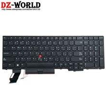 Original novo Teclado Árabe para Lenovo Thinkpad E580 E585 E590 E595 T590 P53S L580 L590 P52 P72 P53 P73 Laptop 01YP645