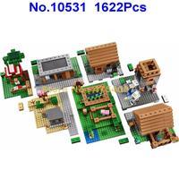 Bela 10531 1622 peças série vila bela bloco de construção 21128 brinquedo