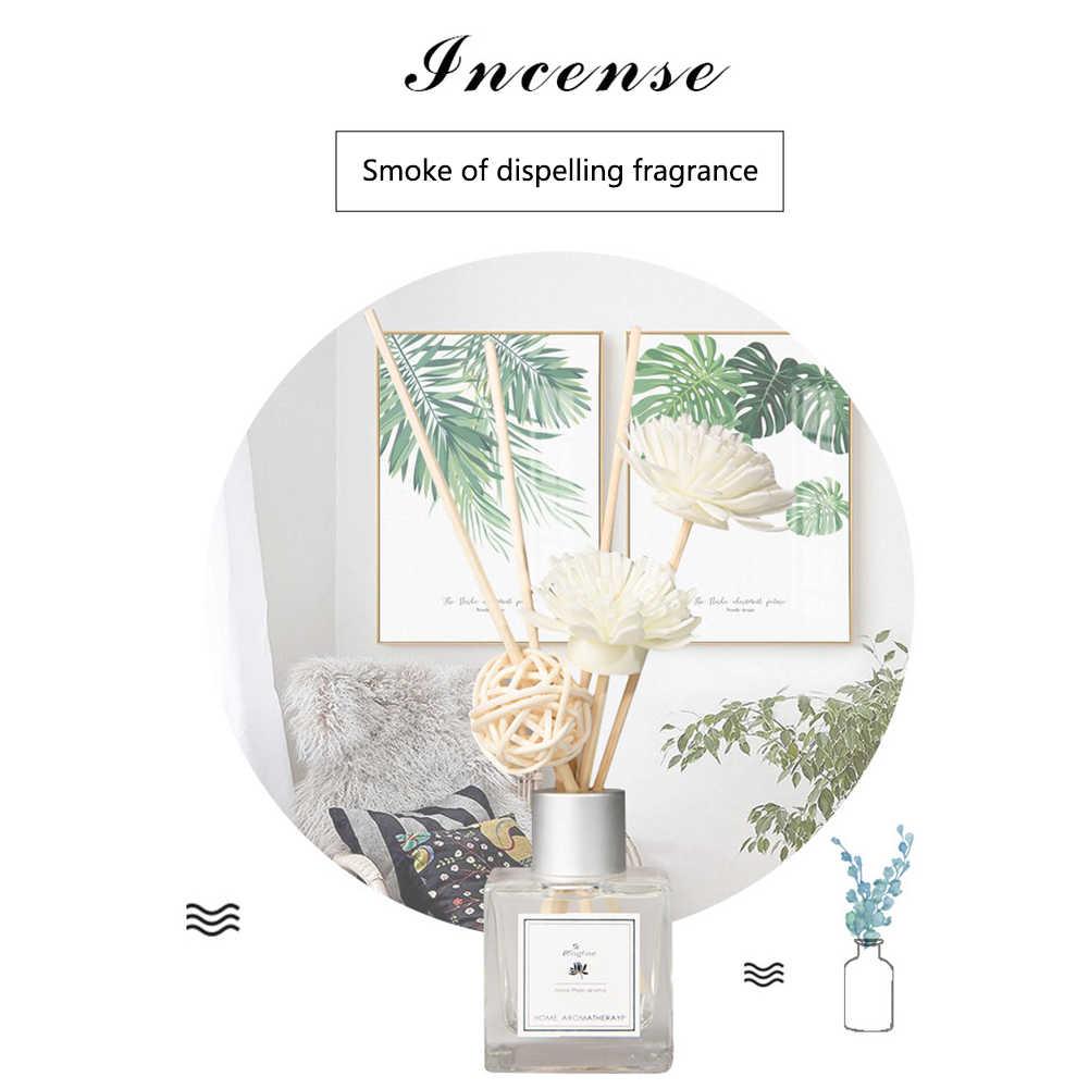Diffusore di Aroma Rattan Set Spiedi Purificazione Dell'aria Ufficio FAI DA TE Auto Squisita Aromaterapia Alleviare Lo Stress Nessun Fuoco Profumo di Casa