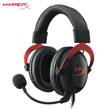 HyperX Cloud II Gaming Headset Red headphone with virtual 7.1 surround sound for your PC deliver crystal clear precise sound