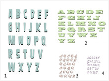 Eastshape 26 Pcs/lot Letter Alphabet Metal Cutting Dies Scrapbooking for Card Making DIY Embossing Cuts