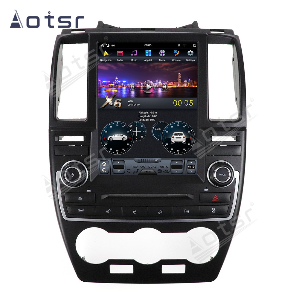 Android 9 Tesla Screen Car GPS Navigation Radio For Land Rover Freelander 2 LR2 L359 2006~2015 Multimedia Player Stereo Headunit image