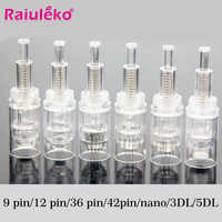 50 Uds. Cartucho de tornillo de repuesto Dr. pen aguja sello eléctrico Auto Microneedle 9 pin/12 pin/36 pin Nutrition Import herramienta